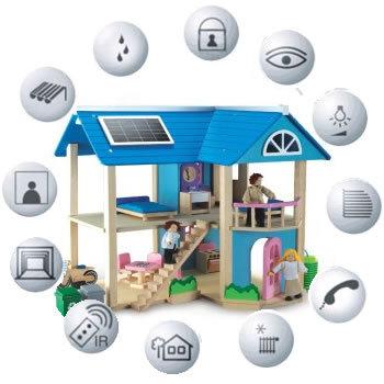 El futuro en las casas inteligentes for Domotica casa