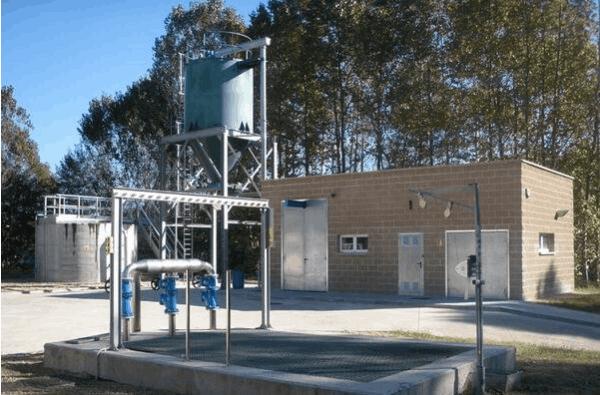 Depuradora de agua España