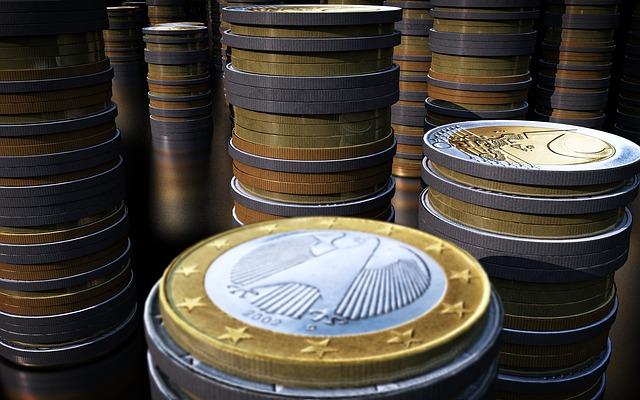 Euros en columnas