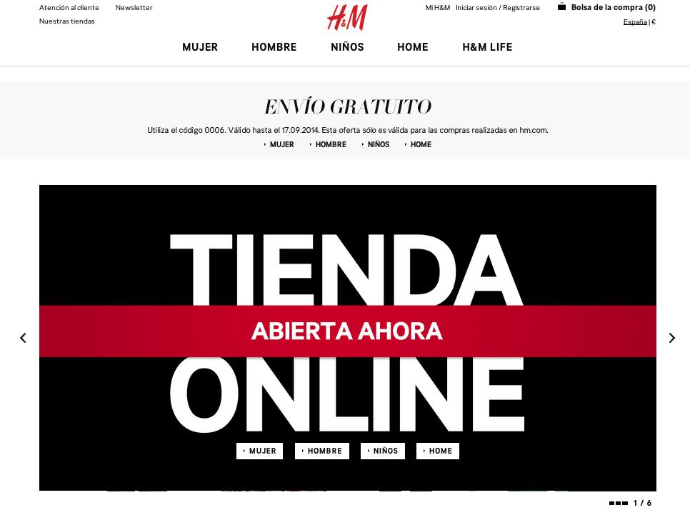 Tienda Online H&M