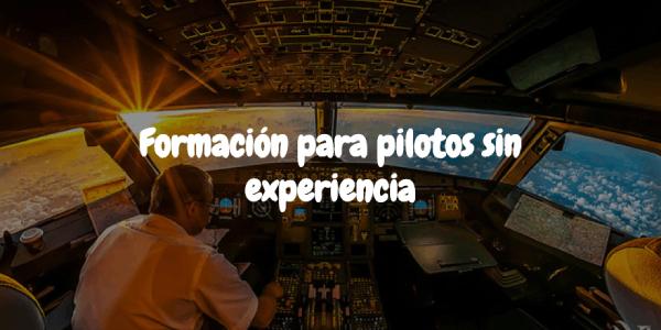 Imagen de Acuerdo pionero para formación de pilotos sin experiencia