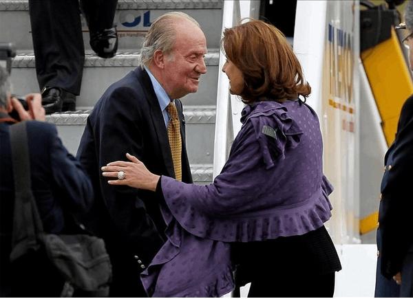 Rey Juan Carlos en Colombia